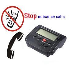 CALL PATROL CALL BLOCKER & SCREENER - STOPS NUISANCE CALLS & TELEMARKETING