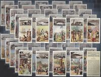 CHURCHMAN-FULL SET- HISTORY & DEVELOPMENT OF THE BRITISH EMPIRE (50 CARDS) - EXC