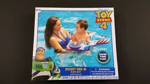 *NEW* Disney * PIXAR Toy Story 4 Rocket Ride-in Float Seat - SWIM TIME FUN!