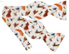Fly Fishing Bow tie / Fishing Flies / Flies for Anglers / Self-tie Bow tie