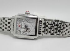 MICHELE MW06P00A0084 WOMENS DIAMOND FACE STAINLESS STEEL WATCH