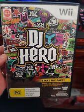 DJ Hero -  NINTENDO WII - FREE POST *