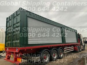 40ft x 8ft Roller Shutter Shipping Container