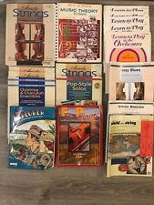 18 Book Lot Alfred Strictly Strings Violin Viola Cello Orchestra Sheet Music
