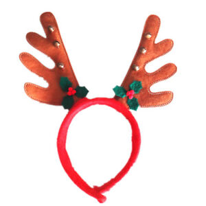 New Festival Christmas Headwear Xmas Decor Reindeer Antlers Decoration GR