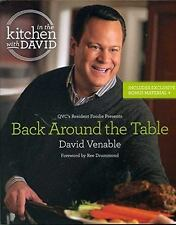 IN THE KITCHEN WITH DAVID, Back Around the Table by Venable, David; foreword by