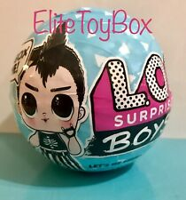 LOL Surprise BOYS SERIES 1 Doll 7 Surprises In Boy Ball NEW