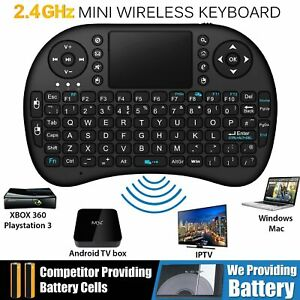 New Mini Portable Wireless Keyboard Touchpad For PC Laptop Android Smart TV Box