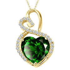 Emerald Fine Gemstone Pendants