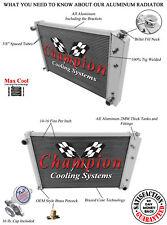 """84 85 86 87 Chevy Pickup Truck 19"""" Core Champion 4 Row Aluminum Radiator MC716"""