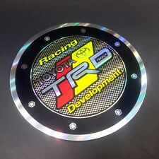 Fuel Gas Tank Trim Cover For Toyota TRD Racing Cars Decal Emblem Foil Stickers