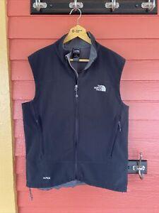 The North Face Men's Apex Flight Vest Size Large Full Zip Black