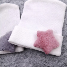 Newborn Baby Hospital Hat Soft Cotton Knitting Hats For Babies