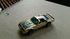 1977 1978 1979 Golden Machines 6 Pack Hot Wheels Hot Bird Gold Chrome Clean Nice