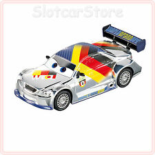 "Carrera GO 61290 Disney Pixar Cars Silver ""Max Schnell"" 1:43 Slotcar Auto Plus"