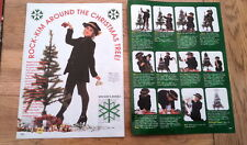 KIM WILDE @ Christmas 2 page magazine PHOTO/Poster/clipping 11x8 inches