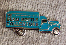 HAT PIN ~ 2008 BEAM BOTTLE COLLECTORS ~ BLUE DELIVERY TRUCK