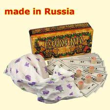 Russisches Lotto Familienspiel Bingo