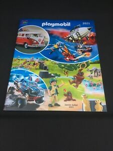 CATALOGUE PLAYMOBIL FRANCE 2021 NEUF VW volkswagen COX COMBI COCCINELLE