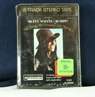 Buffy Sainte-Marie - I'm Gonna Be A Country Girl Again - 8-Track Tape SEALED