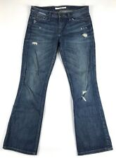 Joes Womens Jeans 27 Blue Factory Distressed Provocateur Fit