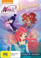 Winx Club: Bloomix Begins - Season 6 Volume 1 NEW R4 DVD