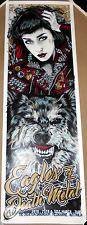 Eagles Of Death Metal 2016 Melbourne Australia Print Poster Rhys Cooper Signed #