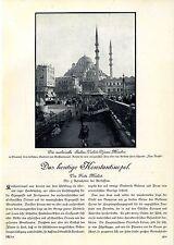 Das heutige Konstantinopel - Die neue Türkei - Historischer Bild-Report von 1929