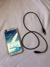 Samsung Galaxy Note 2 Note II Android Smartphone White PASSWORD LOCKED 32GB