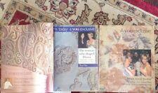 Princess Diana Catherine Walker 3 Set Series Magazines Rare Fashions Clothes