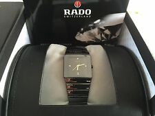 Reloj Rado Diastar Jubile Watch Medium size UNISEX Cerámica Negra con diamantes