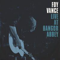 Foy Vance - Live at Bangor Abbey [New CD]