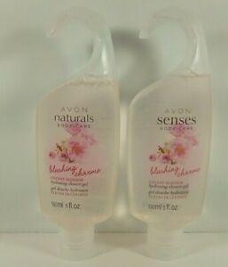 2 Avon Naturals Cherry Blossom Hydrating Shower Gel Body Moisture 5 oz/150mL New