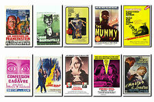 Hammer - Horror Film Poster Postcard Set # 5