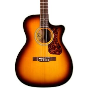 Guild OM-140CE Westerly Collection Orchestra A/ Guitar Antique Burst