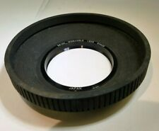58mm Lens Rubber Hood shade wide angle for 24mm f2.8