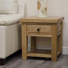 Regent solid oak furniture side end lamp table