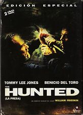 HUNTED (La presa) de William Friedkin con Tommy Lee Jones, Benicio Del Toro.