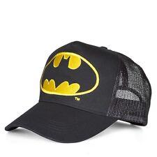DC Comics - Held - Batman Logo Trucker Cap - Mütze - Kappe - bestick, LOGOSHIRT