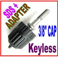 1 Pc Sds Plus Adapter Amp 38 Cap Drill Keyless Chuck Sct 888
