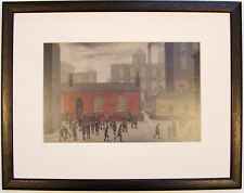 L.S Lowry COMiNG OUT OF SCHOOL 1927 Framed