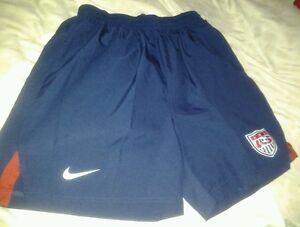 USMNT rare Nike training shorts worn by players