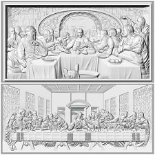Two the last supper 3D STL models for CNC router artcam aspire 3D relief designs