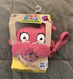 💛 NEW Ugly Dolls Moxy To Go Clip On Hanger Plush