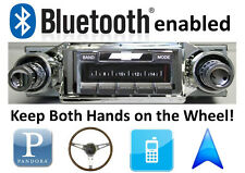 Bluetooth Enabled 65 Impala Caprice Bel Air 300 watt AM FM Stereo Radio iPod USB