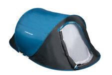 Dunlop Wurf Zelt 1 Person 220x120x90 cm blau/grau inkl Tasche Neu & OVP