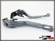 Strada 7 CNC Long Carbon Fiber Levers KTM 1190 Adventure / R 2013 - 2014 Grey