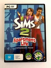 The Sims 2 Expansion pack PC X4  Bundle Bulk Lot Business Apartment Free Time AU