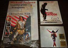 PRIX CHOC LOT MICHAEL JACKSON NEUF SCELLE 1 LIVRE 1 DVD 1 DOUBLE CD THIS IS IT