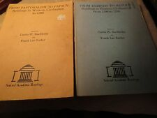 Vintage West Civilization reading  - Buchholtz and Earley - Lot of 2 - 1970